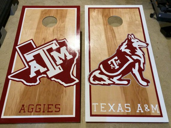 Marvelous Texas Am Cornhole Boards Cornhole Designs Diy Bags Game Ibusinesslaw Wood Chair Design Ideas Ibusinesslaworg