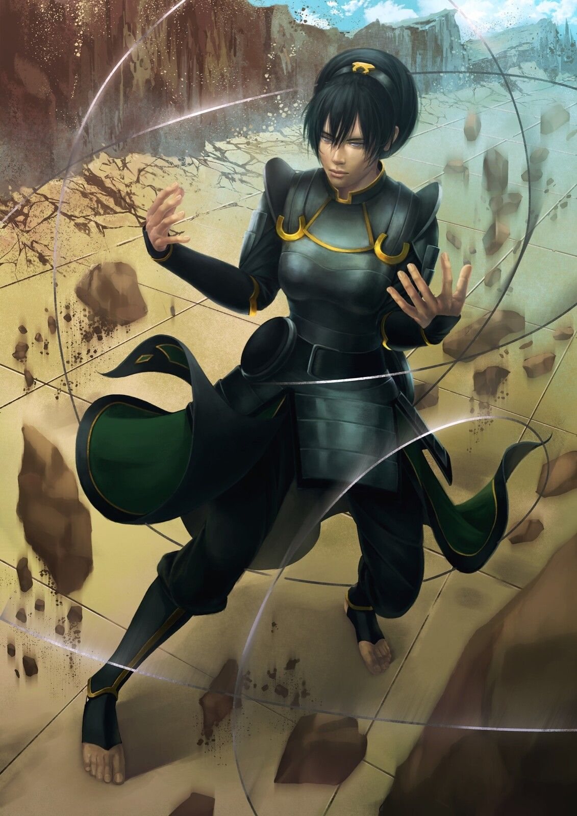 Chief Toph, Alais L on ArtStation at https://www ...