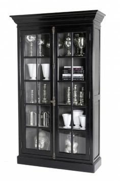black display cabinet google search cabinet display rh pinterest com Glass Corner Display Cabinet IKEA Glass Display Cabinet