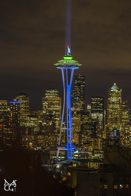 Space Needle 152 Seattle Photos Seattle Photography Seattle Seahawks Football