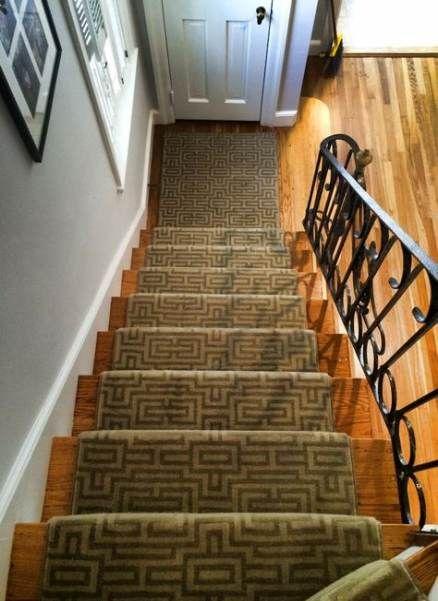 Super geometric stairs runner wool ideas   Geometric stair ...