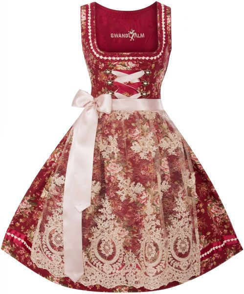 gwandlalm baby rot creme dirndl s dirndl dirndl. Black Bedroom Furniture Sets. Home Design Ideas
