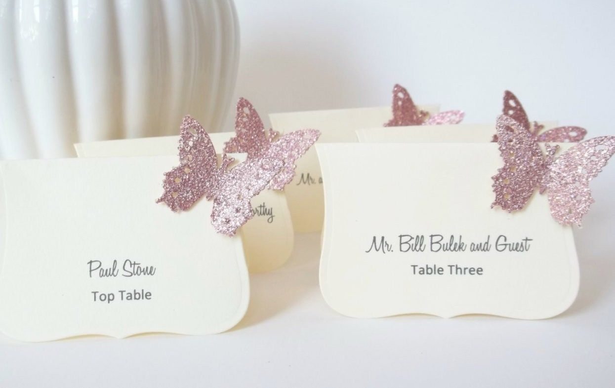 30 Stunning Butterfly Wedding Decorations For Tables | Weddings