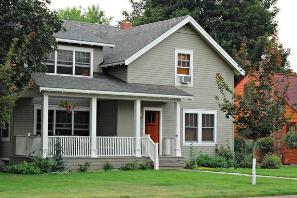 Favorite Paint Colors: Exterior Paint Main exterior: Copley Gray ...