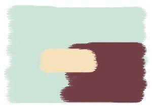 Farbkombination in Blau - Wandfarben in: Macaron -Napa - Cream ...