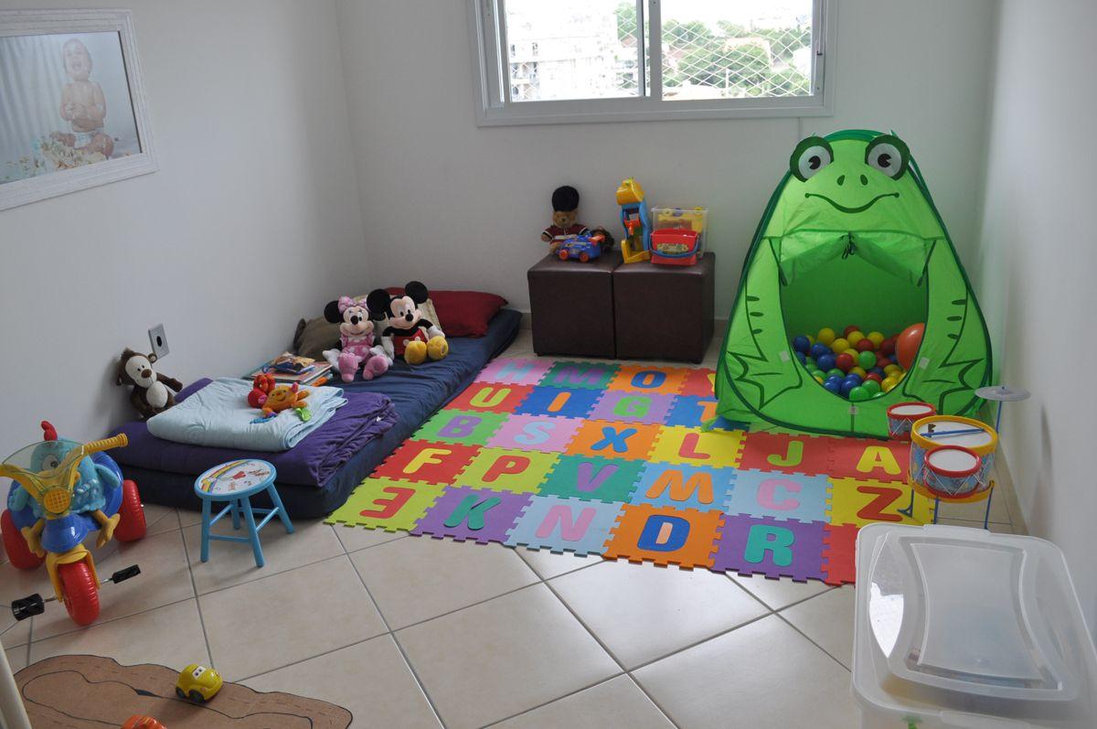 Como Organizar Quarto Ou Cantinho De Brinquedos Super  ~ Tapetes Para Quarto De Menino E Foto Na Parede Do Quarto