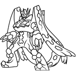 Zygarde Complete Forme Pokemon Sun And Moon Moon Coloring Pages Pokemon Coloring Pokemon Coloring Pages