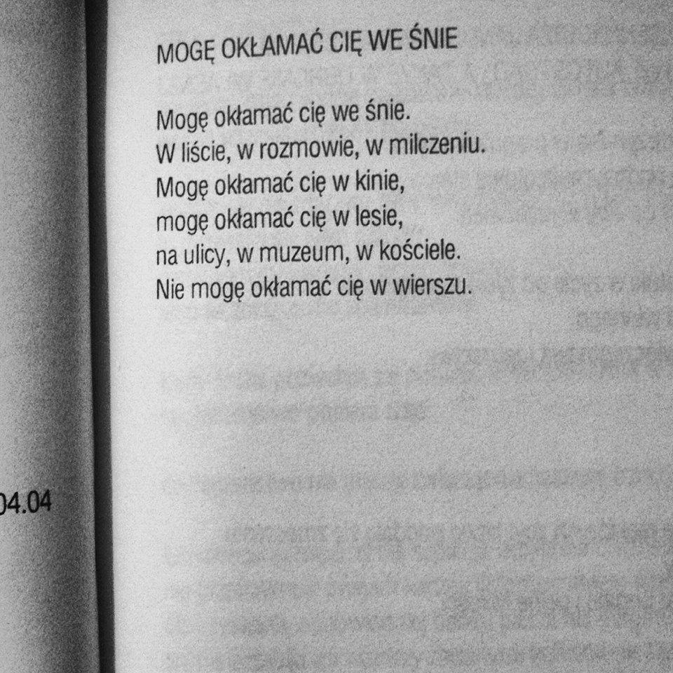Jacek Podsiadło Miejsca Do Odwiedzenia Poezja Wiersze I