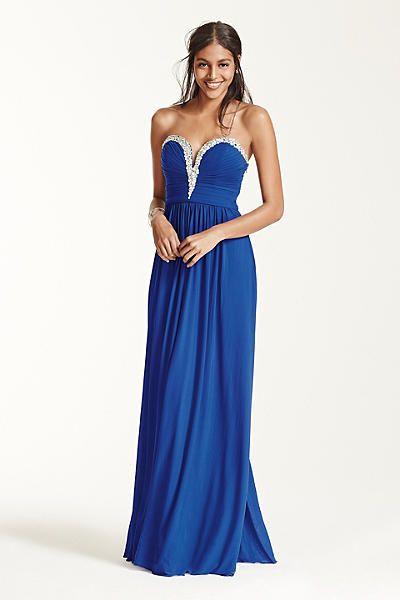 Blue Prom Dresses David's Bri
