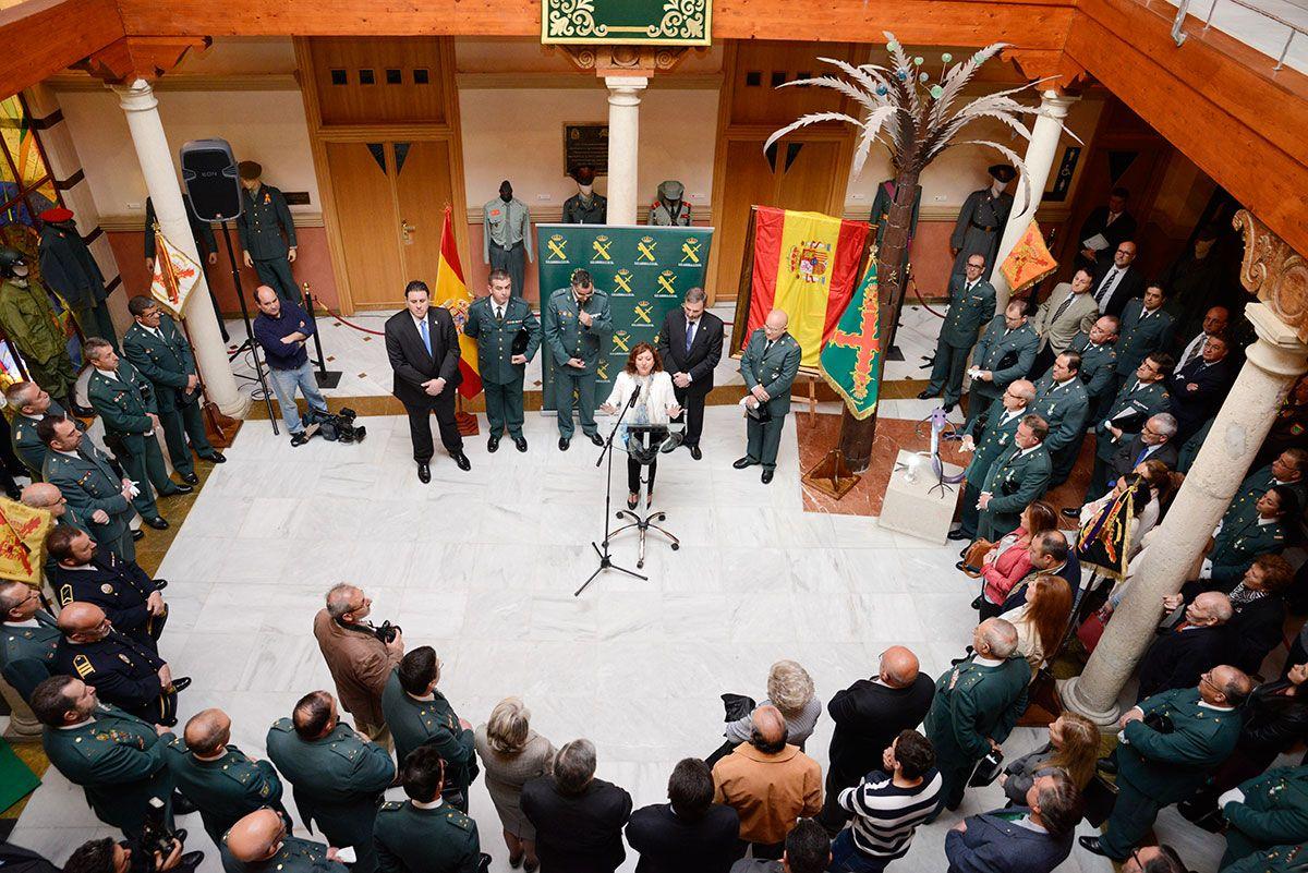 Jaén reconoce la labor de la Guardia Civil en el 172 aniversario de su fundación