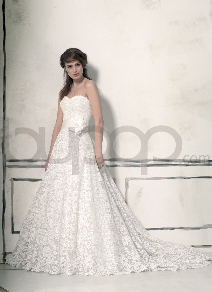 Corded Lace Ball Gown Wedding Dress | Fashion | Pinterest | Lace ...