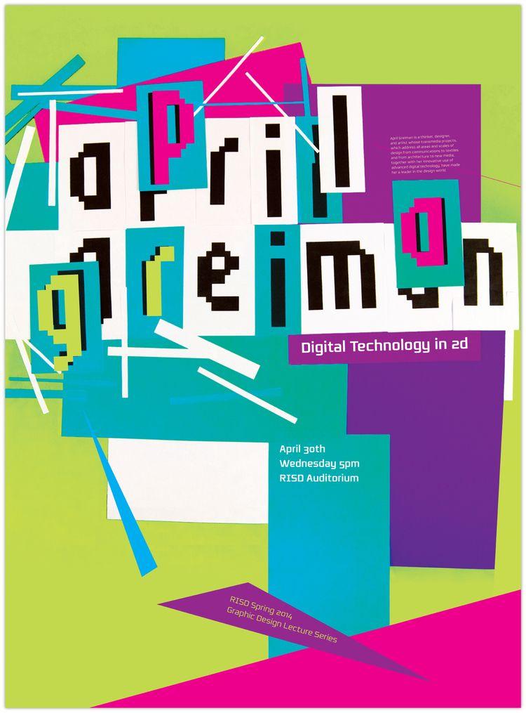 april greiman poster - Google Search | New Wave Design ...