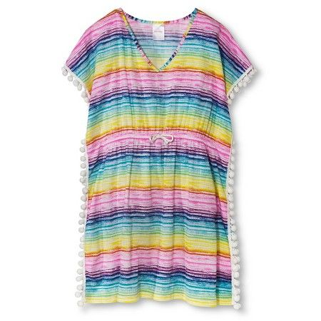 e5d2683af0 Girls' Swim Cover Up Dress - Multi - XS - Xhilaration™ : Target ...