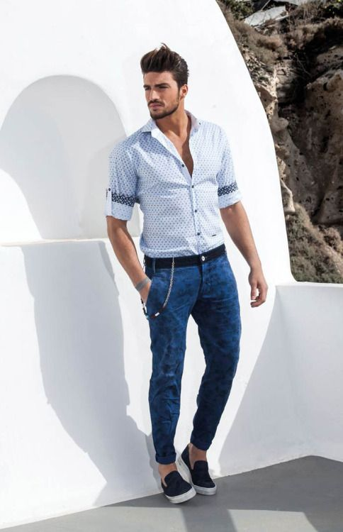 http://chicerman.com  parfaitgentleman:  Stefanfashion SS15  #menscasual