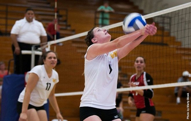 Volleyball Opens At Home With Setback To 10th Ranked Ucsd Setback Volleyball Stanislaus State