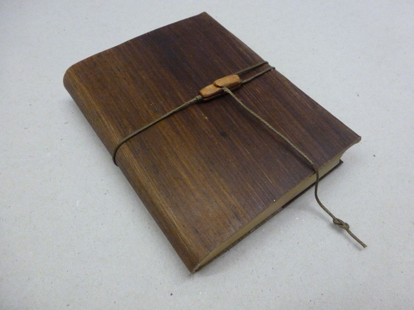 Leather Book Cover Material : Palm leather · book cover by studio tjeerd veenhoven