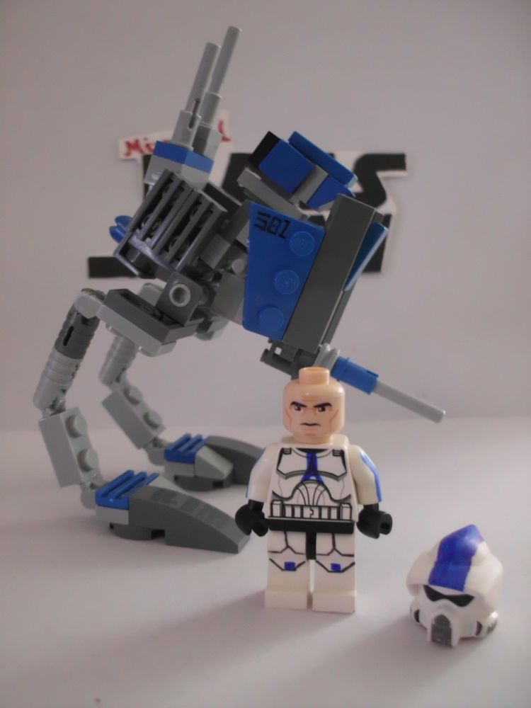 AT-RT Clone Custom 501st ARF Trooper Lego Star Wars minifigures