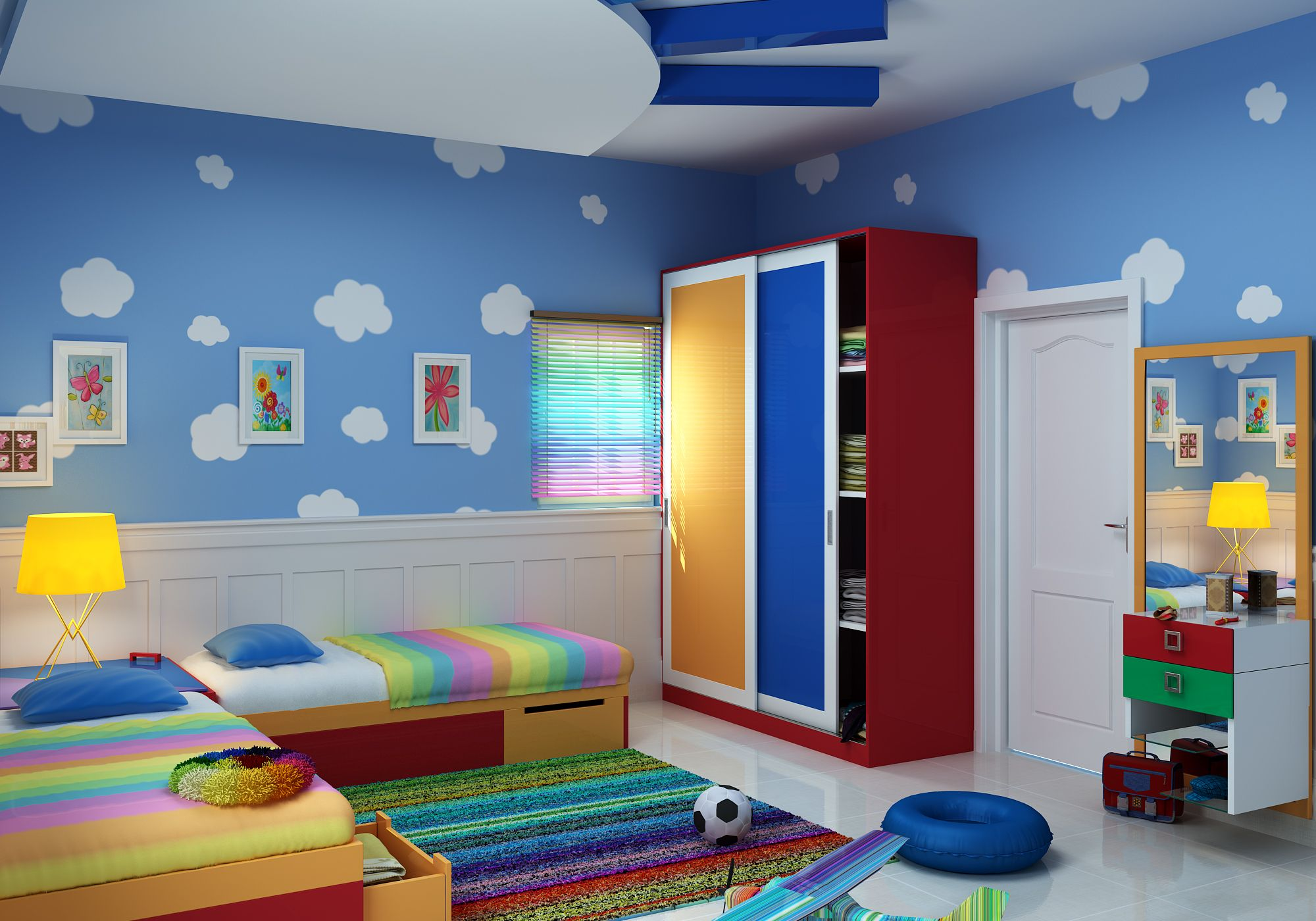 just a look the interior design for your kids.they give us different