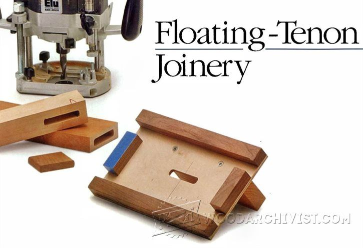 2915 Floating Tenon Joinery Jigs
