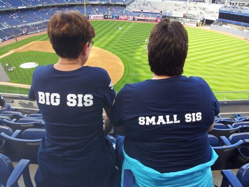 Sisters bij de New York Yankees.  30 mei 2014