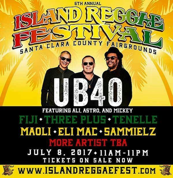 6th annual Island reggae festival feat UB40  | KINGS of