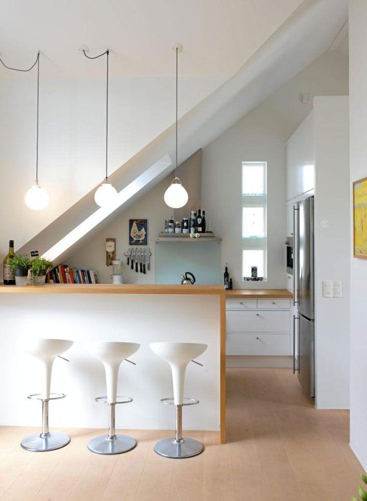 Idee per Arredare una Cucina in Mansarda | mansarda ...