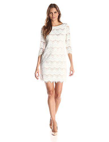 Jessica Howard Women s three four Sleeve Lace Change Costume ... 5c7515b1f