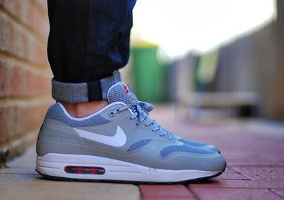 Nike Air Max 1 Hyperfuse Reflective Silver. #sneakers