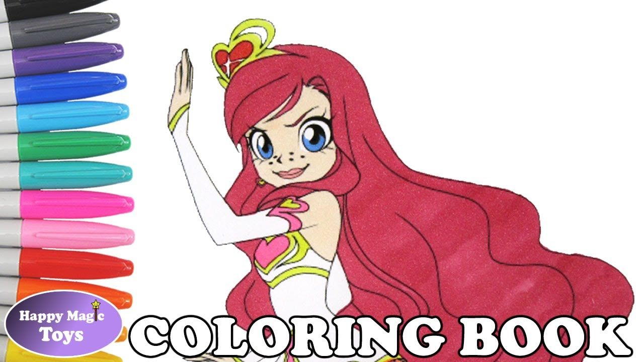 Lolirock Iris Transformed Coloring Lolirock Lolirockiris Lolirockcoloring Princessiris Ephedia Coloringboo Coloring Books Happy Magic Coloring Book Pages