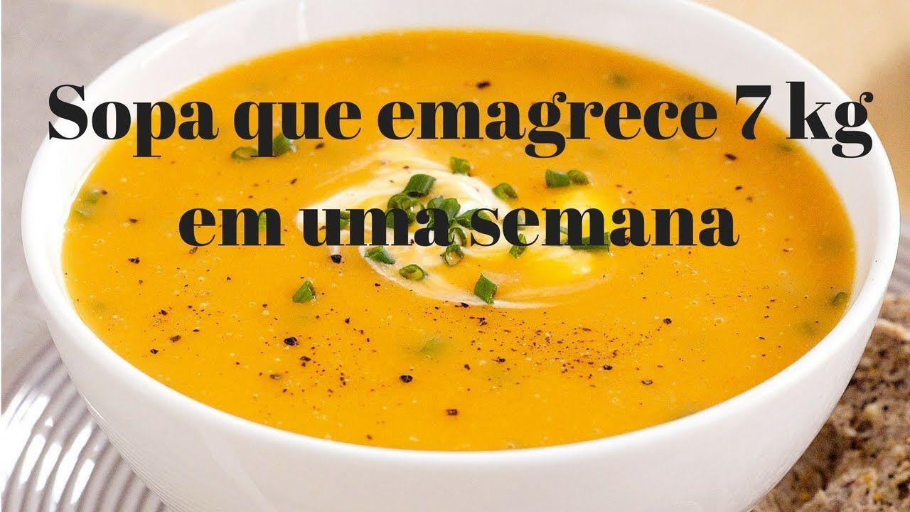 Sopa Milagrosa Que Emagrece 1kg Por Dia Com Imagens Ideias