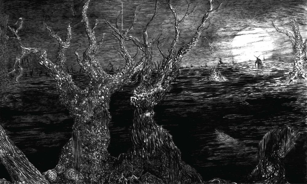The Slithering Bog is a suffocating death/doom album that will trip you out  as…