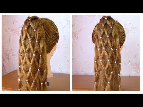 Tuto Coiffure Cheveux Long Noeud Coiffures Elegantes 2018