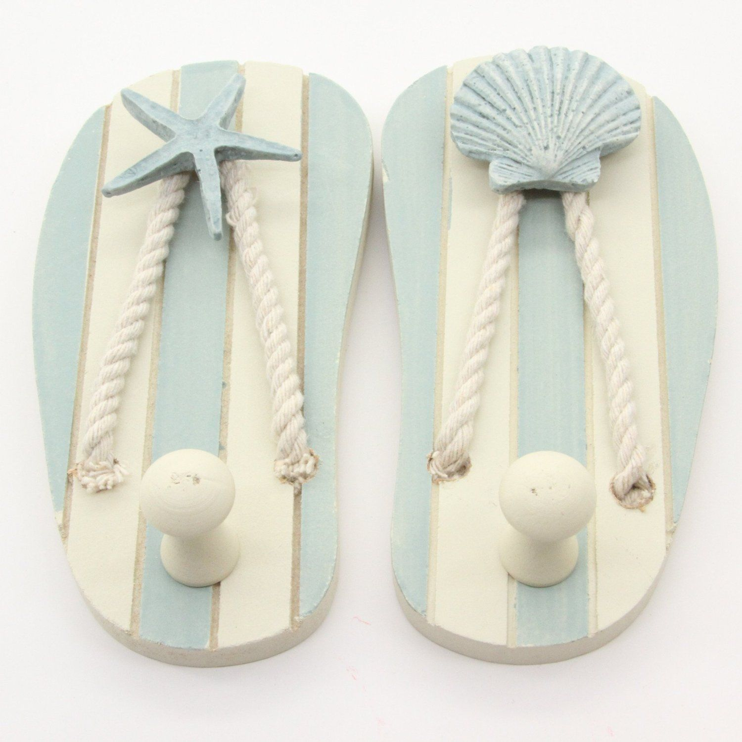 Flip Flop Decor Flipping Wall Hooks and Nautical Design