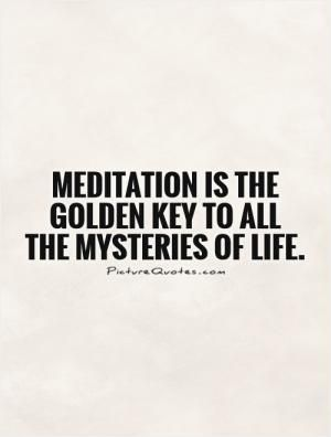 Meditation Quote Visit http://reflectionway.com