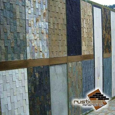 Fachada de piedra laja buscar con google varios for Tipos de piedras para paredes interiores