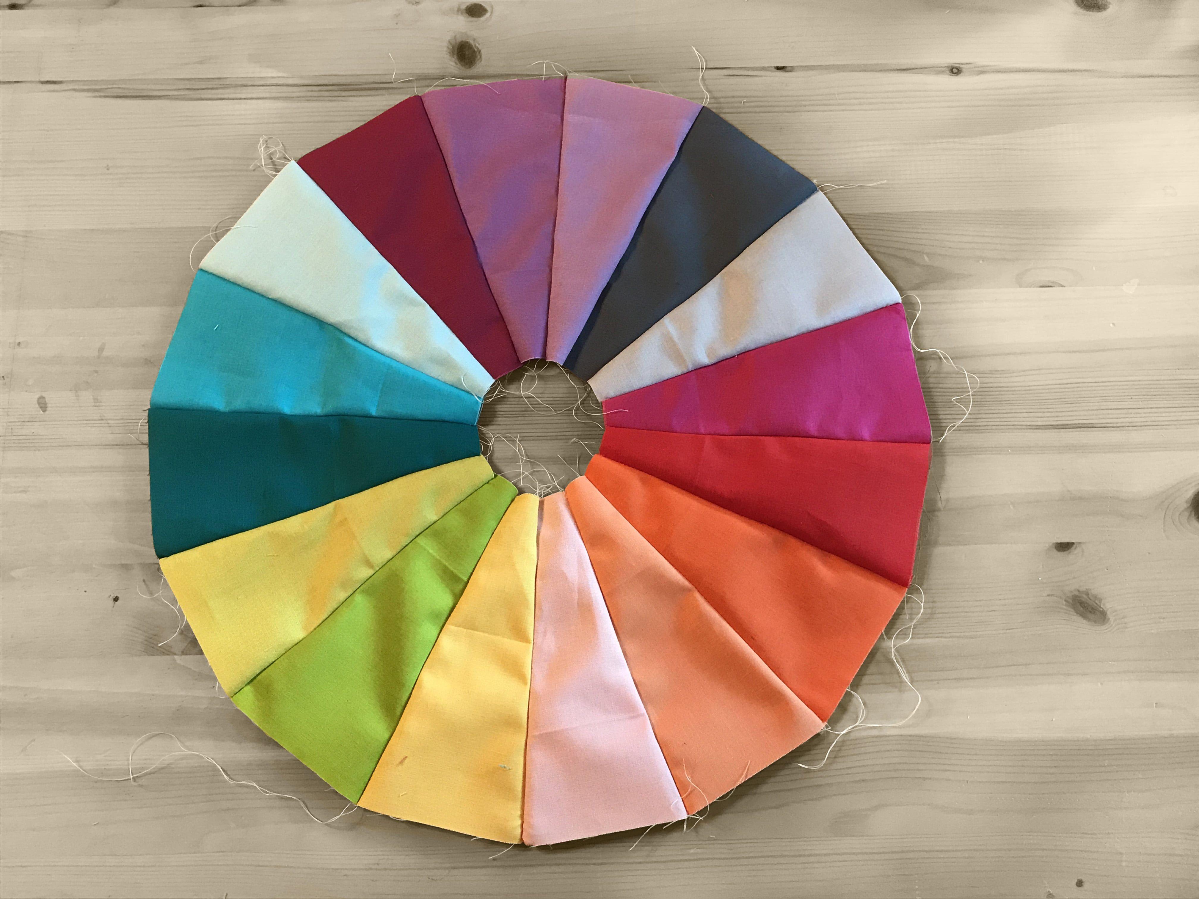 Color Wheel Quilt Tutorial Fabric Com Tutorials Pinterest