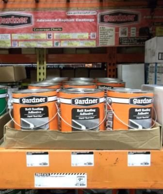 Gardner Roll Roofing Adhesive at The Home Depot | Our