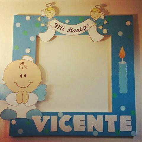 Resultado De Imagen De Foto Cool Casero Bautizo Fotos De Bautizo Photocall Bautizo Y Marcos