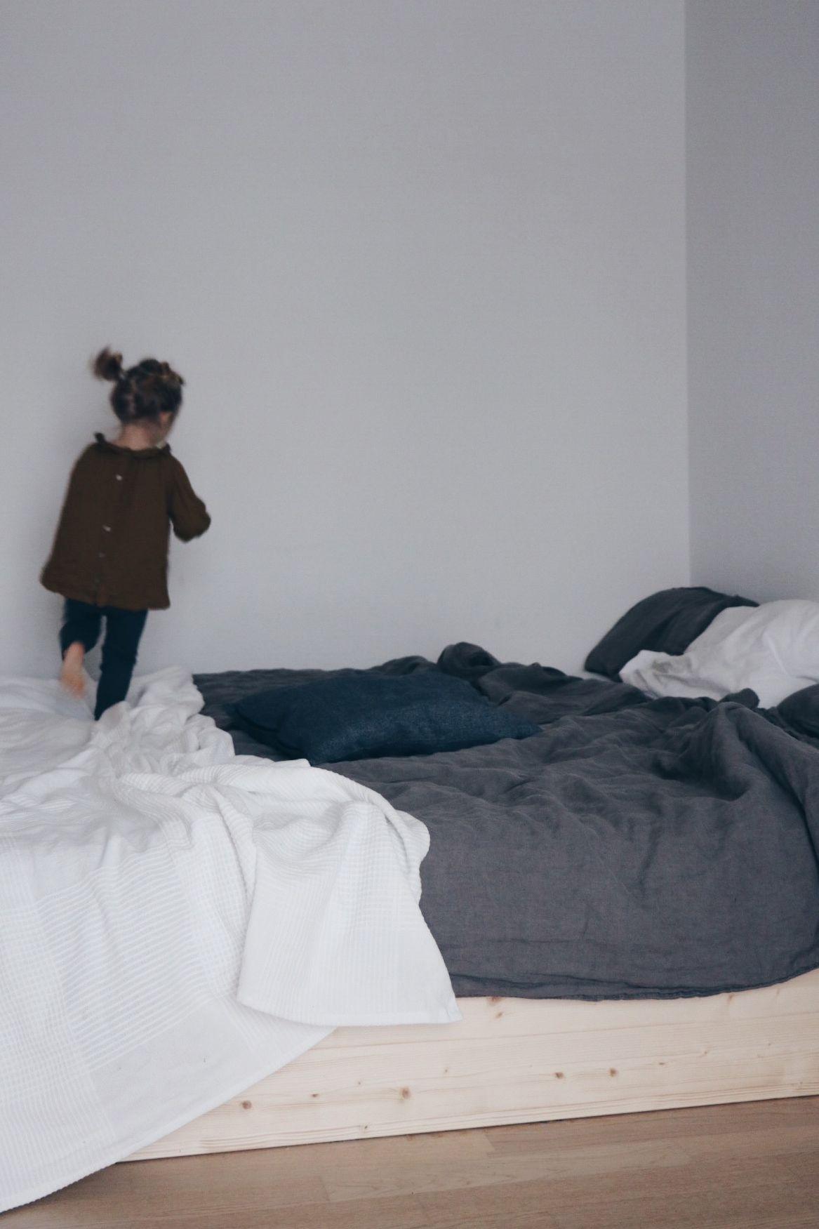 Diy Familienbett Mit Eve Matratze Einfach Selber Gebaut Familien Bett Familienbett Bett
