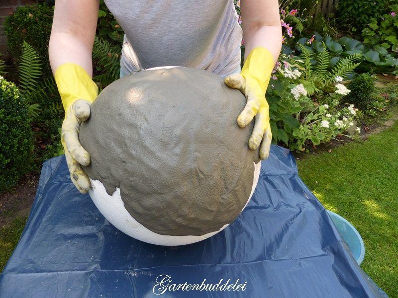 Betonkugel für Garten selber machen DIY Pinterest Concrete - mein garten rtl