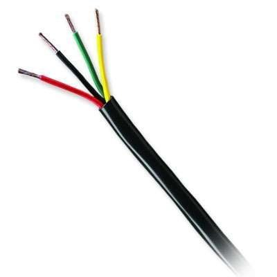Honeywell Genesis 52865008 14/4 Stranded Unshielded Cable, Black ...