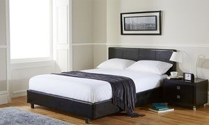Fine Groupon Bed Frame From 69 98 With Mattress From Onthecornerstone Fun Painted Chair Ideas Images Onthecornerstoneorg