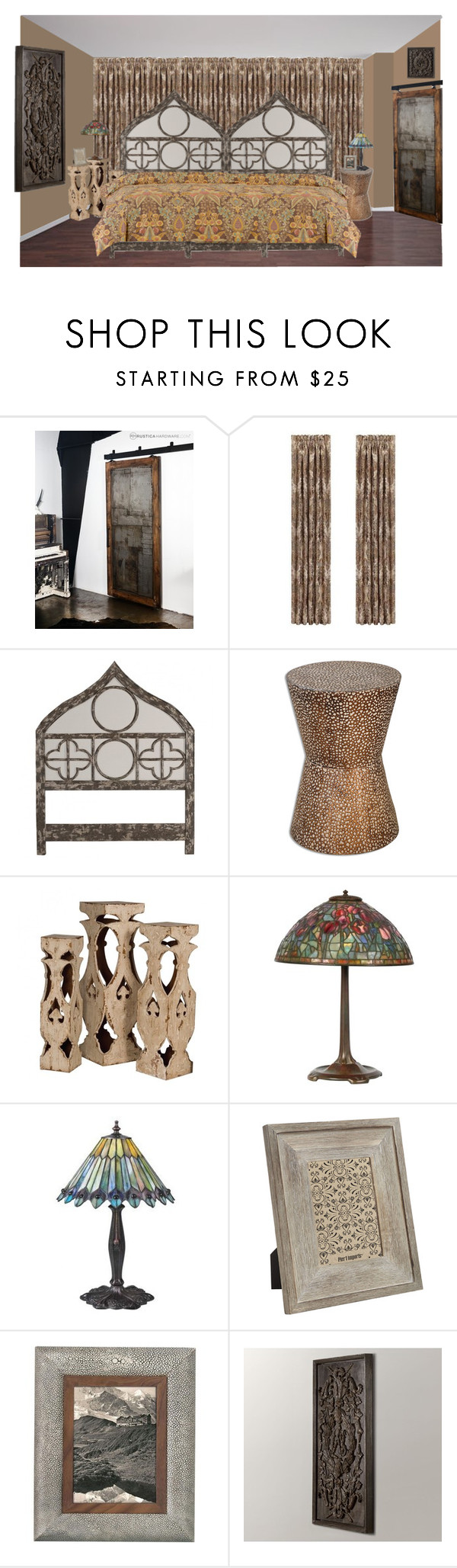 """mordern gothic"" by sterlingkitten on Polyvore featuring interior, interiors, interior design, home, home decor, interior decorating, J. Queen New York, Uttermost, Pottery Barn and Tiffany & Co."