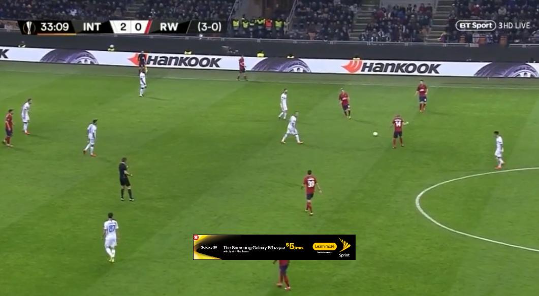 Inter Milan vs Rapid Wien [Europa League Round of 32