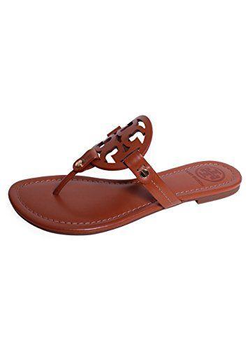2e820dc753e2 TORY BURCH Tory Burch Women S Vachetta Leather Flat Thong Sandals - Miller.   toryburch  shoes  shoes