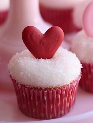 Amor em forma de doce.