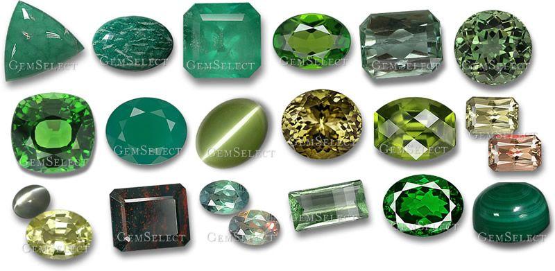 Green Gemstones List Of Green Precious Semi Precious Gemstones In 2020 Green Gemstones Light Green Gemstone Gemstones