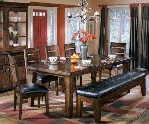 Top 12 Ashley Dining Table With Bench Designer Dengan Gambar