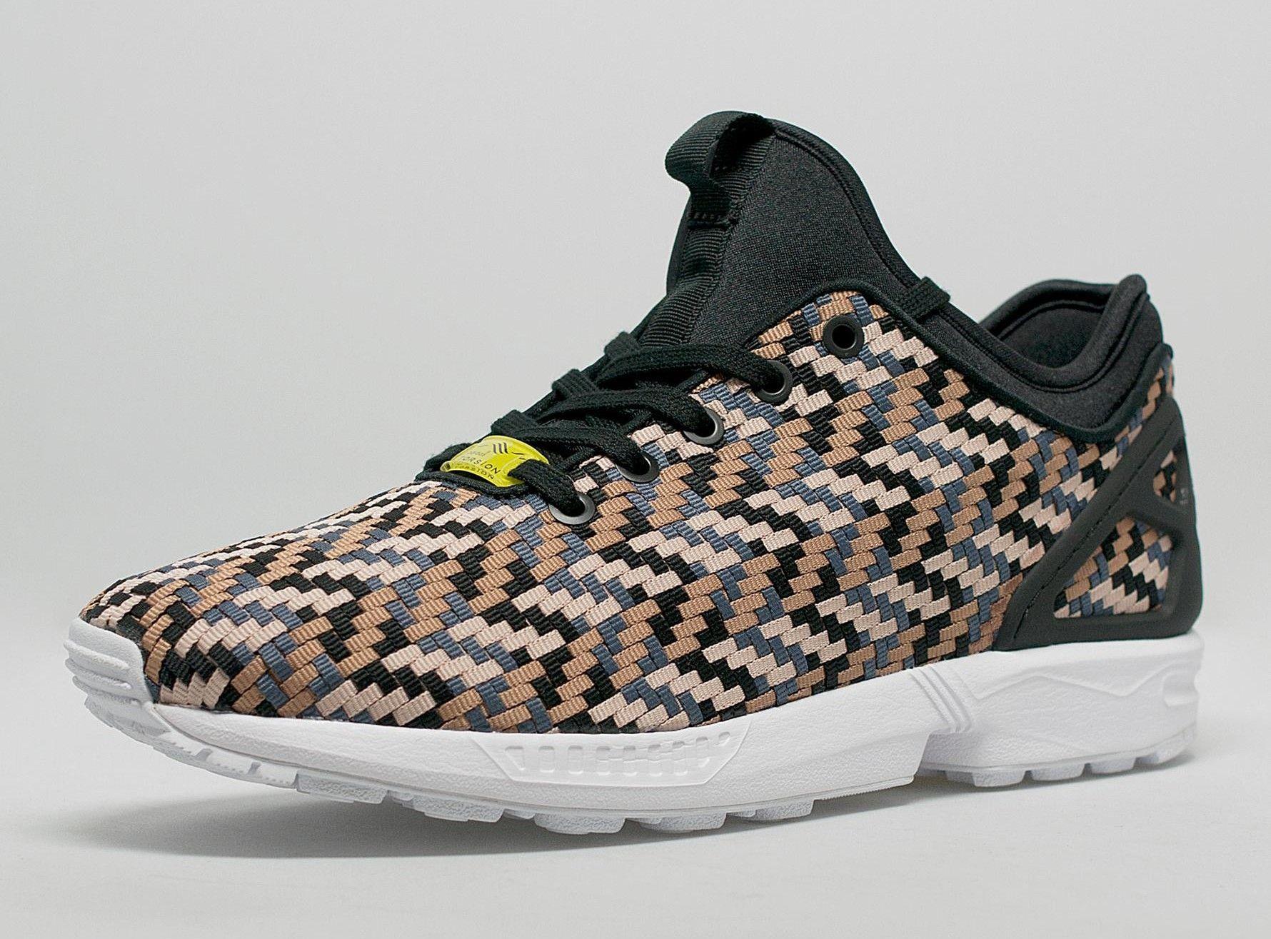 innovative design 57b1a 5dea6 adidas ZX Flux NPS Woven Herringbone | KixandtheCity.com ...