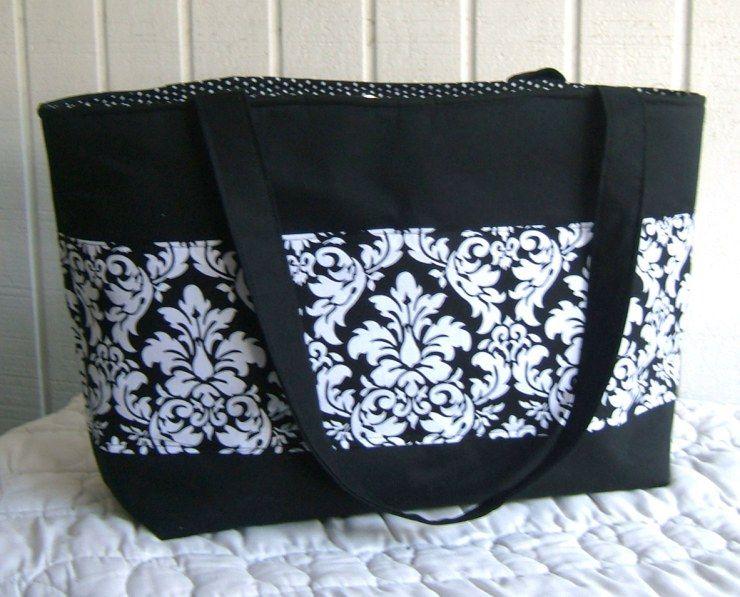 Mrs Langleys Tote Bag Sewing Pattern Free Bag Sewing